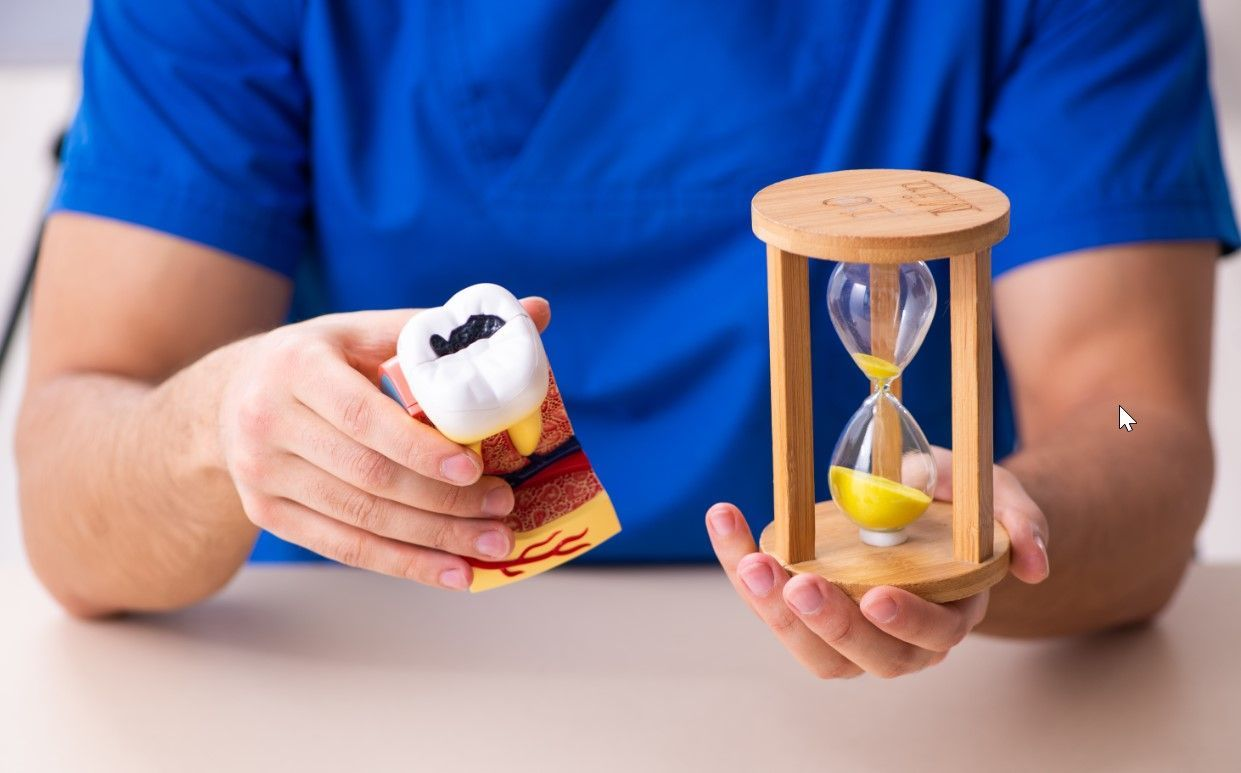 Сколько по времени лечат кариес?