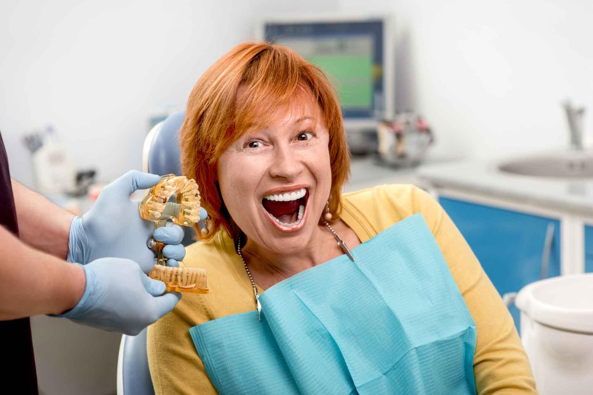 Безболезненная имплантация зубов. 0